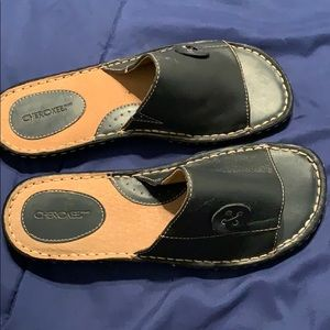 Cherokee leather sandals